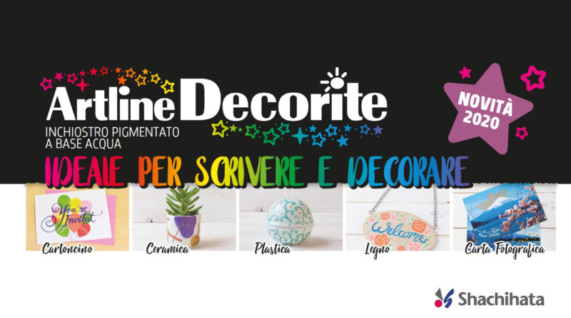 ARTLINE 2020 Shirt Marker & Decorite