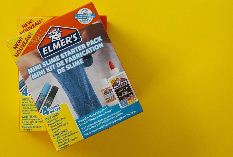 Crea il tuo slime con il kit Elmer's!